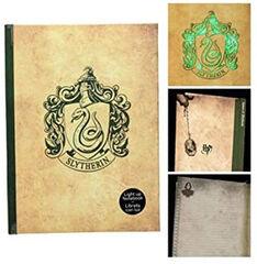 Slytherin libreta con luz Harry Potter
