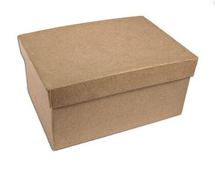 Papel maché Neo caja rectangular Mitjana