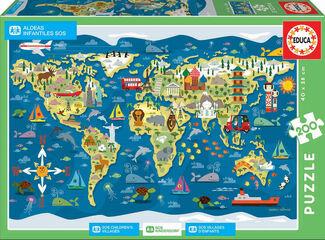 Puzzle Educa Sean Aldeas infantiles SOS