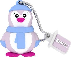 Memoria USB Emtec Lady Penguin 16GB