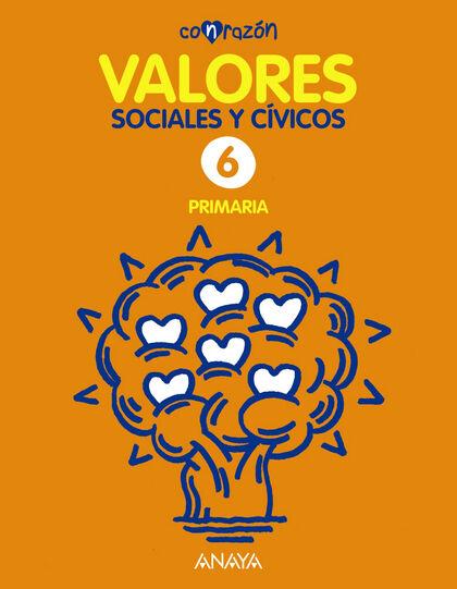 Valores sociales y cívicos/15 PRIMÀRIA 6 Anaya Text 9788467881561