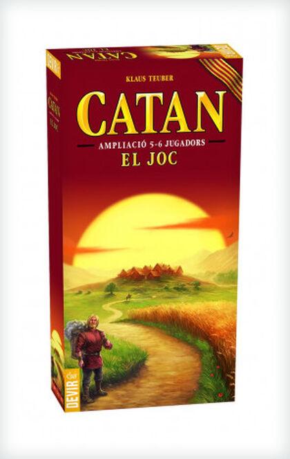 Extensión de juego Devir Catan 5-6 jugadores Catalán