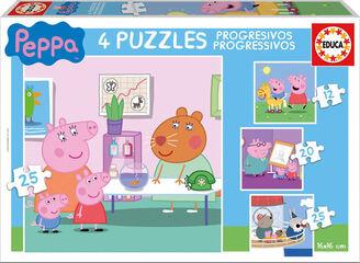 Puzzle Peppa Pig Escenas 4U