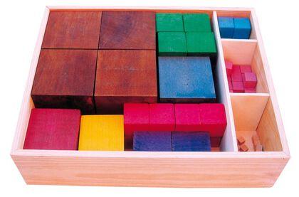 Juego matemático Cubos numéricos Ardidac