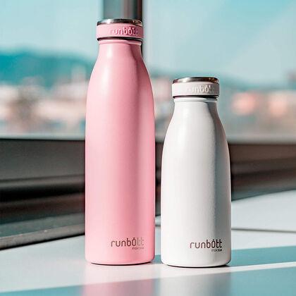 Botella Termo Runbott City Blanco 350 ml