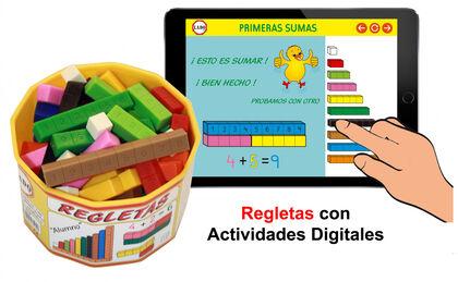 Regletas Lado Actividades digitales 50u
