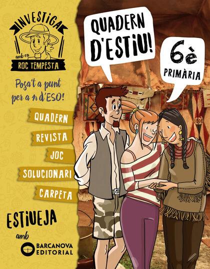 INVESTIGA AMB ROC TEMPESTA 6 Barcanova Quaderns 9788448944872