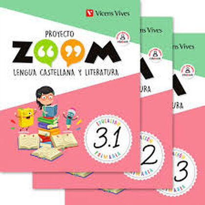 LENGUA 3 (3.1-3.2-3.3) ZOOM Vicens Vives 9788468257730