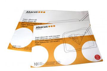 Láminas de dibujo Abacus A4