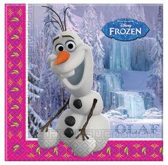 Servilletas Frozen 20U