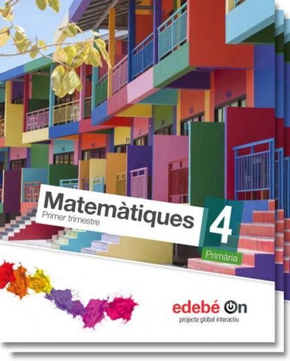Matemàtiques/Talentia PRIMÀRIA 4 Edebé 9788468320731