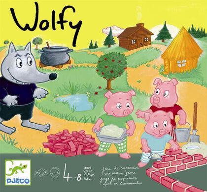Juego cooperativo Djeco Wolfy