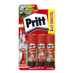 Barra de cola Pritt Stick Super Héroes 22gr 3+1U