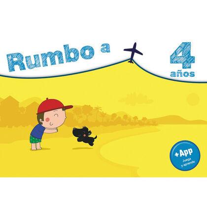RUMBO A... 4 AÑOS. Anaya Quaderns 9788469866900