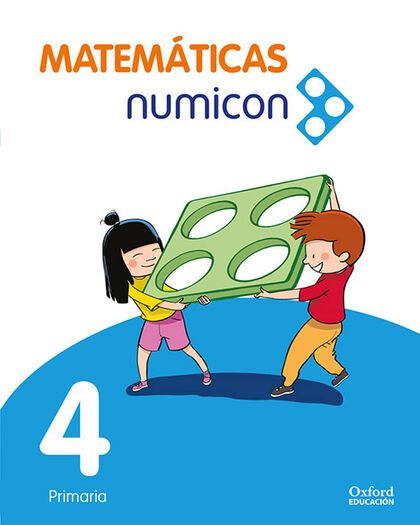 MATEMATICAS NUMICON P4 LA PK Oxford 9780190534547