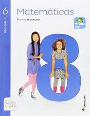 Matemáticas/15 PRIMÀRIA 6 Santillana Text 9788468030333