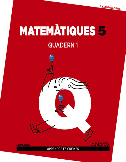 ANIB E5 Matemàtiques-quadern 1/14 Anaya Text 9788467834789