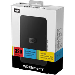 DISCO DUR WD ELEMENTS USB2.0 320Gb