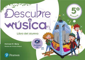 Descubre música PRIMÀRIA 5 Pearson 9788420566412