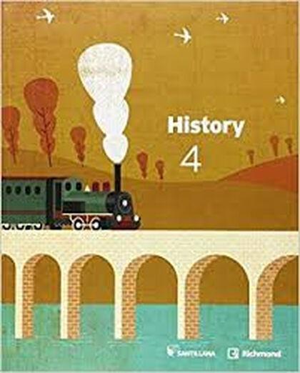 History ESO 4 Santillana Text 9788468040431