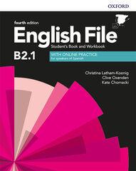 ENGLISH FILE B2.1 SBWB W/KEY 4ED Oxford 9780194058247