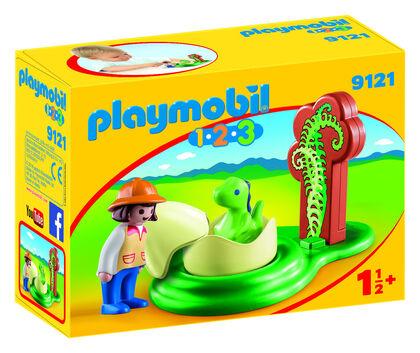 Playmobil 1.2.3 Huevo del Dino