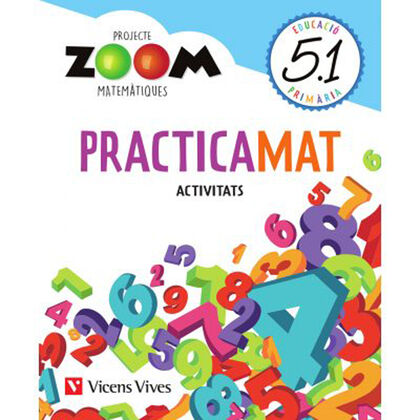 MATEMATIQUES 5 QUADERNS PRACTICAMAT TRIM (ZOOM) Vicens Vives 9788468266749