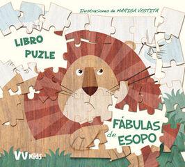 Las Fabulas de Esopo (libro Puzzle)