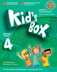 CUP E4 Kid's Box ESP 2E/AB+Onl+CDR+My ho Cambridge 9788490369159