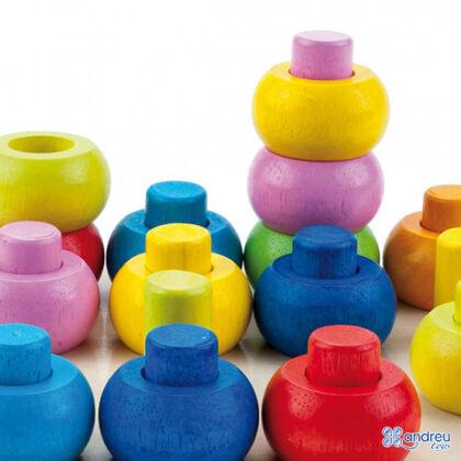 Encaje Apilable círculos Andreu Toys