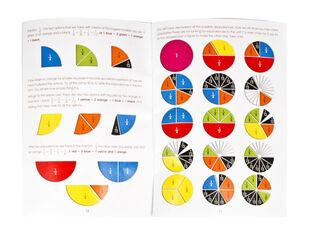 Juego de matemáticas Siete de fracciones