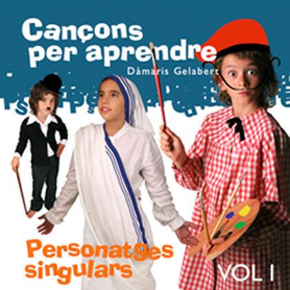 CANÇONS PER APRENDRE PERSONATGES SINGULA