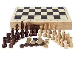 Maletín juegos Aquamarine Ajedrez / Damas / Backgammon