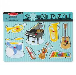 Encaje interactivo Melissa & Doug Sound Puzzle Instrumentos