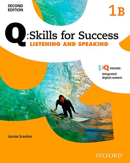 OUP Q Skills 1B L&S Oxford LG 9780194818483