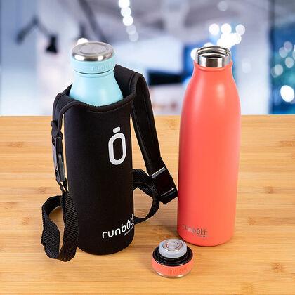 Botella Termo Runbott City Coral 500 ml