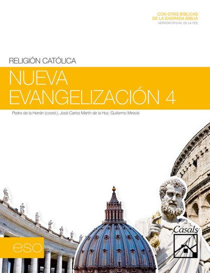 Religión/Nueva Evangelización ESO 4 Casals 9788421843970