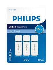 BL. 3 MEMORIES USB PHILIPS SNOW 16GB