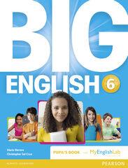 Big English/Pupil's+Mylab PRIMÀRIA 6 Pearson 9781447971764