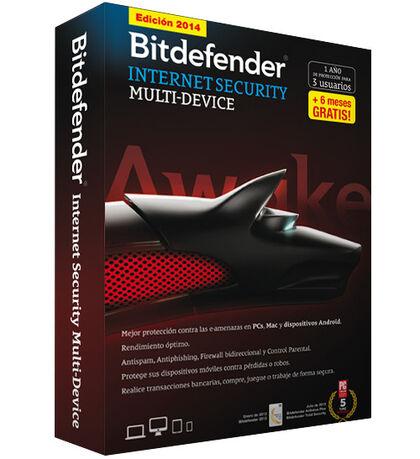 Bitdefender Inter Securi 2014 3 Licencia