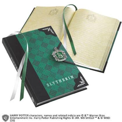 Libreta Diario Slytherin Harry Potter