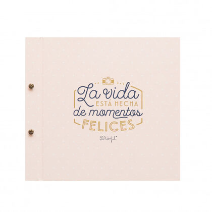 Álbum de fotos Mr.Wonderful La vida esta hecha de momenos felices