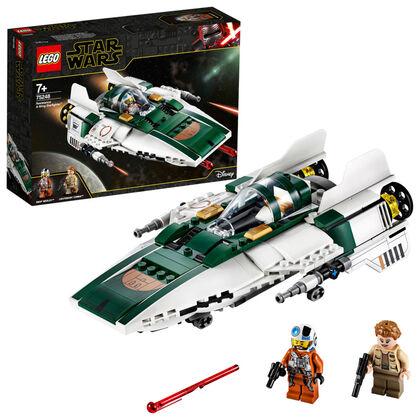 LEGO Star Wars Canó estelar ala A de la resistència (75248)
