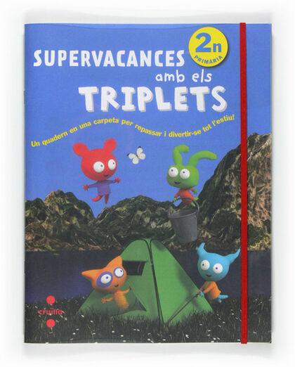 SUPERVACANCES AMB ELS TRIPLETS 1 Cruïlla 9788466125932
