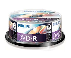 DVD Philips Gravable Punxo 25U