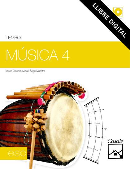 Música ESO 4 Casals 9788421848159