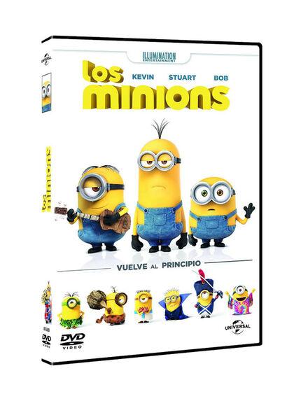 LOS MINIONS DVD