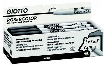 Rotulador para pizarra blanca Giotto Robercolor M Negro