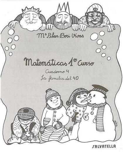 MATEMÁTICAS 1 CUADERNO 04 Salvatella 9788472106741
