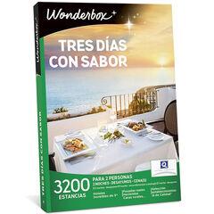 Wonderbox Tres días con sabor